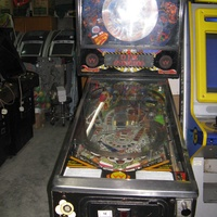 Williams hurricane pinball flipper machine