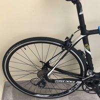 Almost new bicycle two times used only