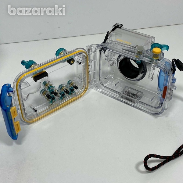 Canon camera with waterproof case - scuba diving-4