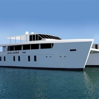 Catamaran for 185pax for private charters in cyprus