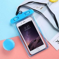 Waterproof illuminating mobile case