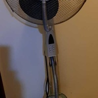 Air fan r/c and timer