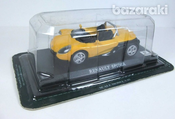 Renault spider in yellow and black-3