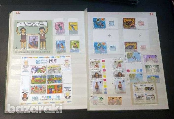 Year of the child mint stamps 35 min. sheets and 134 sets-2