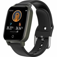 Body temperature blood pressure heart rate fitness watch
