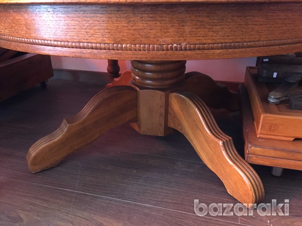 Antique vintage coffee table w-36 h-18inch-2