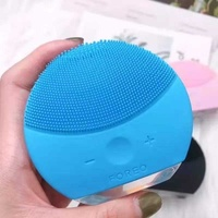 New 5 in 1 face cleaning brush usb charging scrubber
