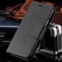 Case for samsung galaxy s5 pu leather wallet flip black