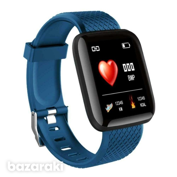 D13 smart watch men women for android ios phone heart rate blood press-1