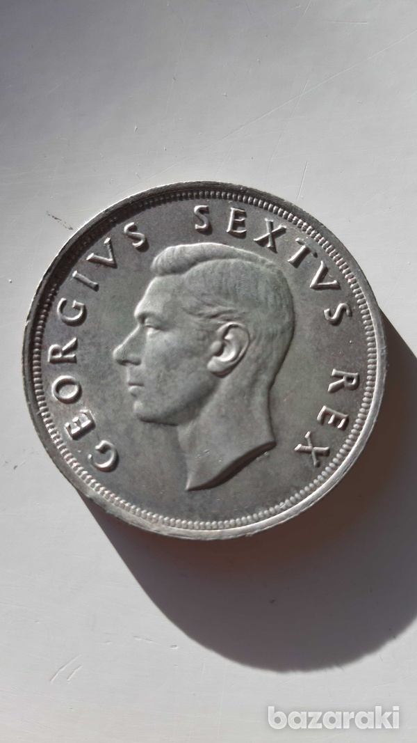 South africa 1952 silver coin-2