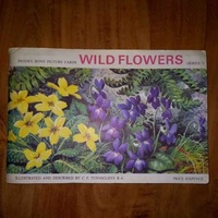 Brooke bond picture cards wild flowers series 3 1964