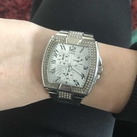 Quess stainless steel watch
