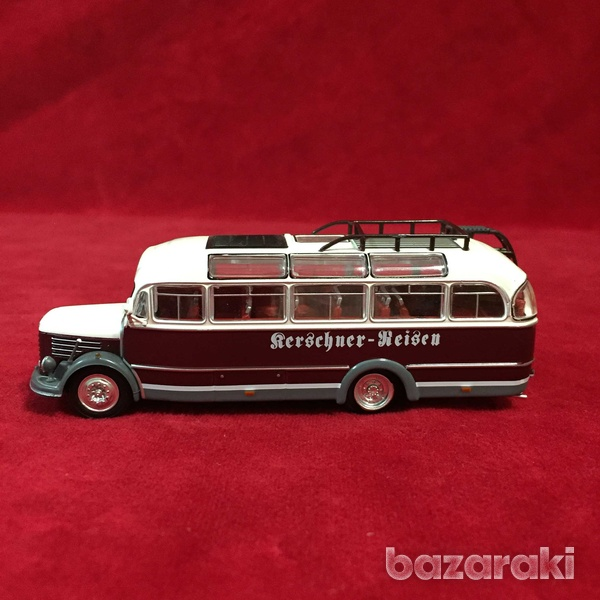 Collectible steyr 380 q bus 1/72 scale-4