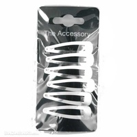 Silver clips 6-pack
