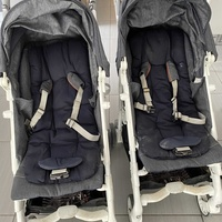Two strollers in excellent condition.