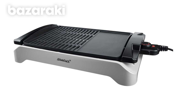 Steba bbq table grill, gray/black