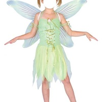 Girls tinkerbell fairy carnival costume age 8-10