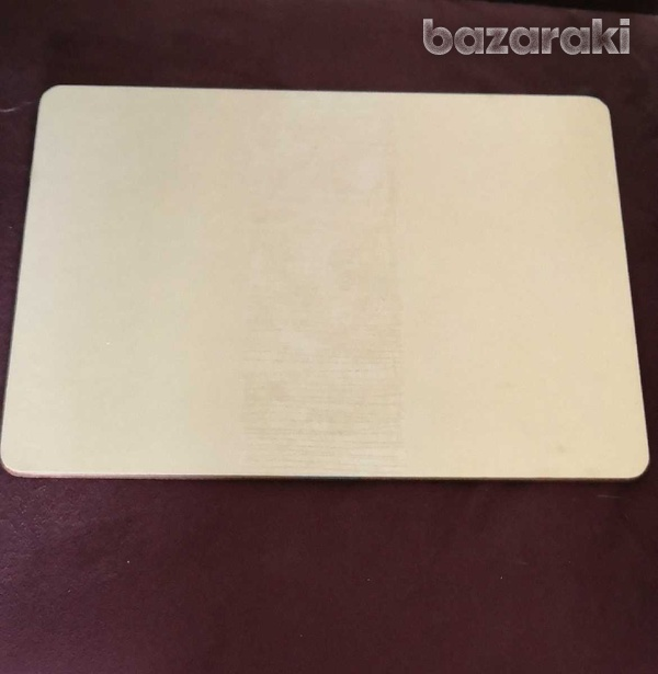 11 placemats σουπλα with detailed lines in the middle the back is cork-2
