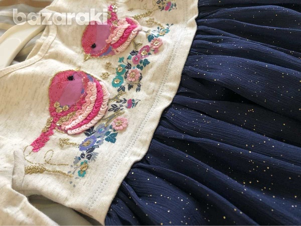 Monsoon dress with embroidery-6