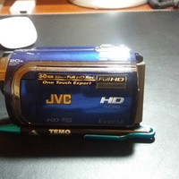 Jvc-gz-hd320 camcorder,hd,60gb hdd