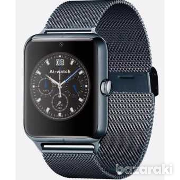 Smart watch stainless steel for android ios iphone-3