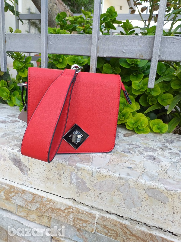New red clutch bag-1