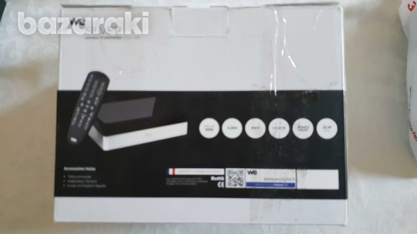 We silver 1000 gb hard disk multimedia recorder and player-2