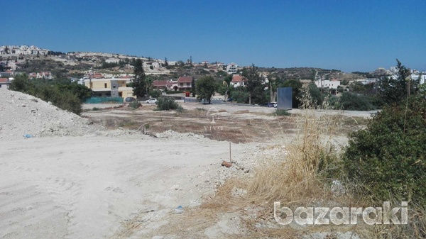 Residential plot 1113 sqm in a great spot in agios tychon
