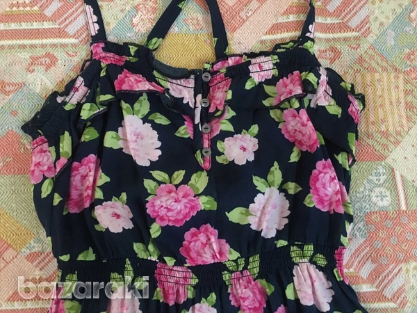Abercrombie and fitch kids girls floral dress sz m-3