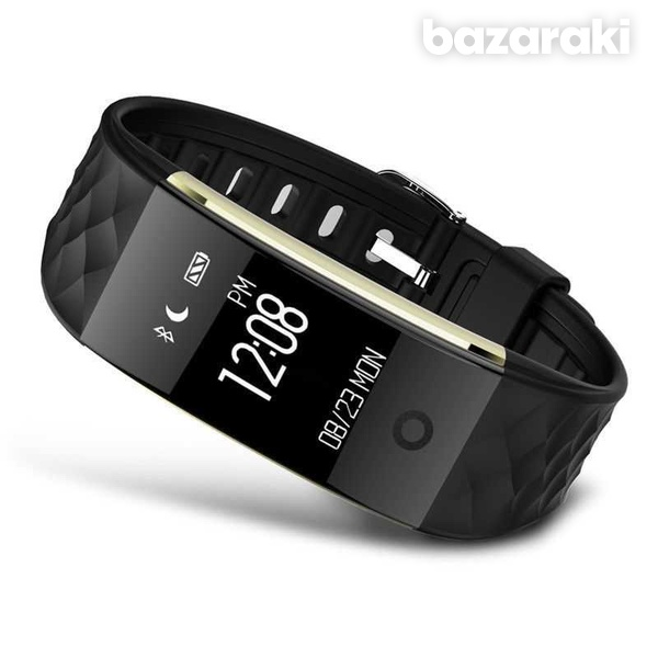 Waterproof s2 heart rate gps smart bracelet watch wristband sports fit-4
