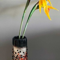 Beautiful designer art vase