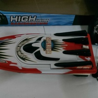 Racing boat toy