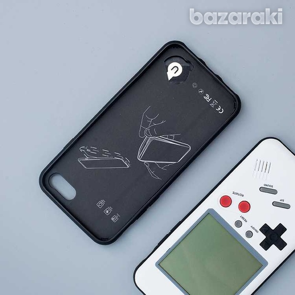 Tetris case for iphone 8 7 6 plus retro game-6