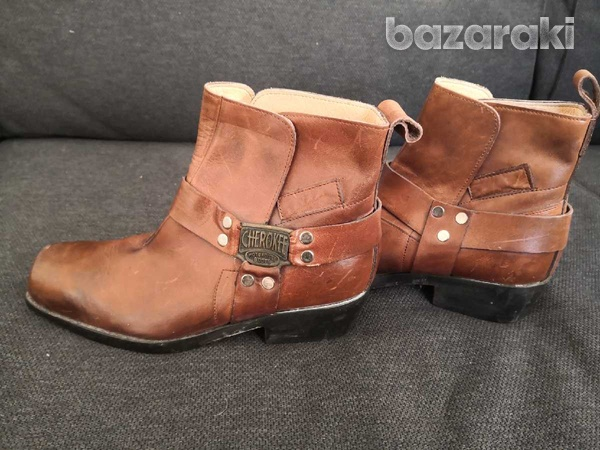 Cherokee motorcycle leather boots 40-6