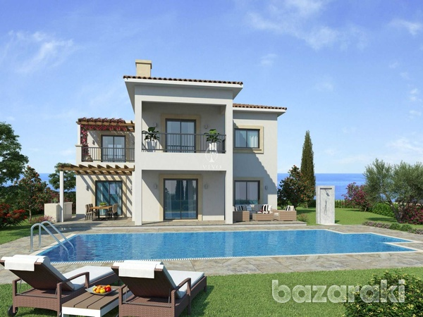 Three bedroom villa close to st george fishing harbour in peyia-4