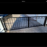 Iron gate for entrance