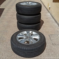 16 inches 4 tires with alloy wheels