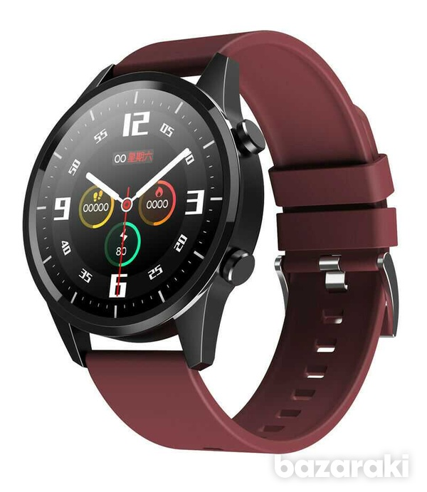 Fitness watch android ios make bluetooth call heart rate blood pressure-8