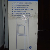 Otto water dispenser for hot, normal and cold water