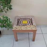 Handmade mosaic coffee table