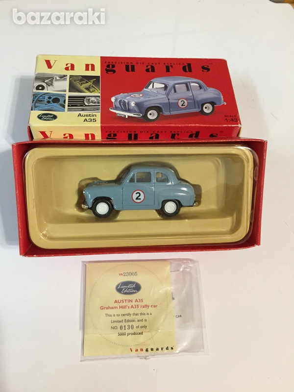 Austin a35 model by vangaurds 1/43 scale, new-1