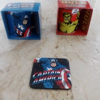 Marvel coffee mug and coaster / φλυτζανια καφε marvel