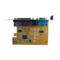 Serial-parallel pci express card