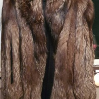 Jindo fur coat