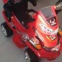 Kids motorbike 12v recharg.battery/remote control-manual operated