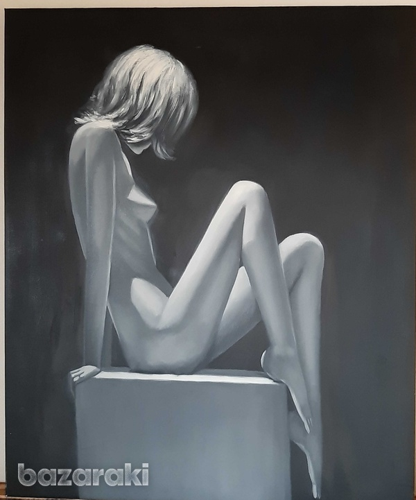 Nude painting - 57 x 47 cm