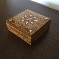 Handmade small jewelery box
