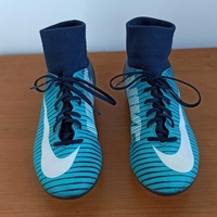 Nike kids mercurial sock football boots size 36.5
