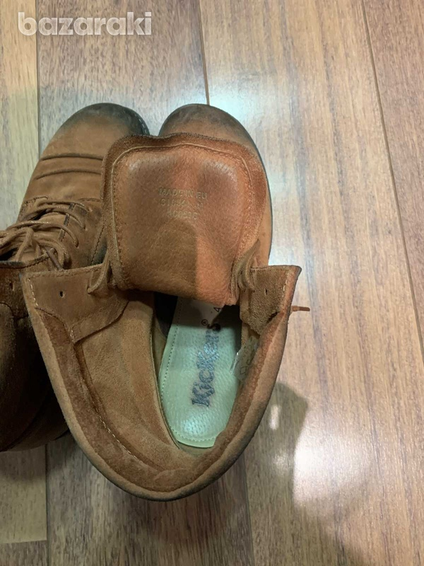 Kickers camel ankleboots, size 41-4