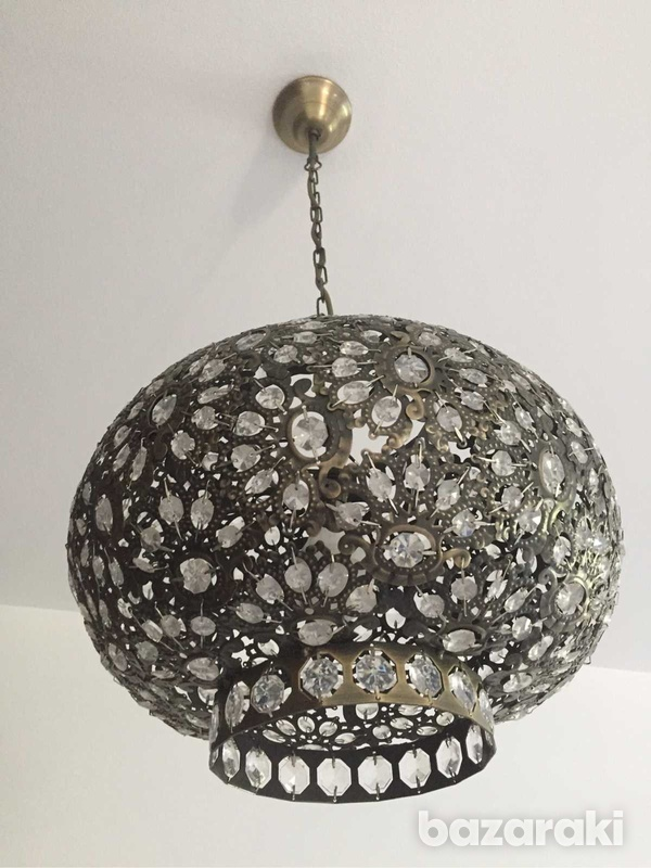 Marks and spencer moroccan style ceiling light-4